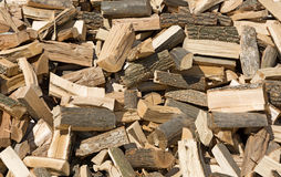 Firewood background. Royalty Free Stock Photography