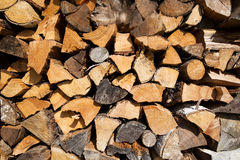 Firewood background Royalty Free Stock Photos