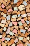 Firewood background Stock Image