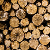 Firewood Background stacked Stock Photography