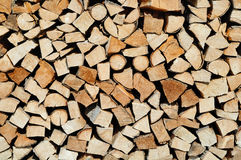 Firewood Closeup Royalty Free Stock Photo