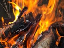 Firewood detail Stock Photo