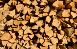 Firewood. This is Finnish firewood waiting sauna Stock Image