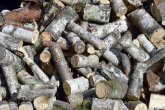 Firewood - firewood for the winter Royalty Free Stock Images