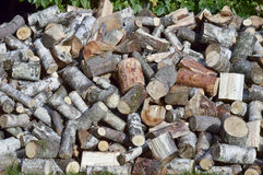 Firewood - firewood for the winter Royalty Free Stock Photography