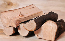 Firewood fuel energy Royalty Free Stock Photography