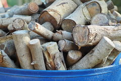 Firewood. The fuel for winter Royalty Free Stock Images