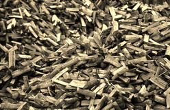 Firewood. Giant load of fresh cut firewood Stock Photography