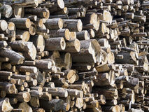Firewood. Heap of firewood - nice background texture Royalty Free Stock Image