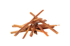 Firewood isolate. The logs of fire wood isolate ,piece of wood Stock Photo