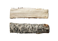 Firewood isolated Stock Images