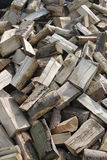 Firewood Log Pile. Royalty Free Stock Photo