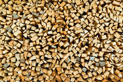 Firewood logs stacked Royalty Free Stock Photography