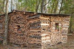 firewood Madeira cru combustível naughty fotografia de stock