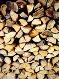 Firewood material Stock Photos