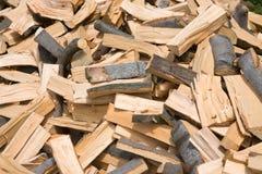 Firewood pile Royalty Free Stock Photos