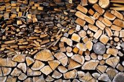 Firewood Pile Royalty Free Stock Image