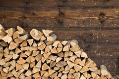 firewood image stock