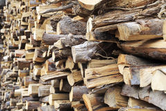 The firewood pile Royalty Free Stock Photography