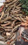 Firewood. Royalty Free Stock Photos