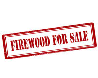 Firewood for sale. Rubber stamp with text firewood for sale inside,  illustration Royalty Free Stock Photography