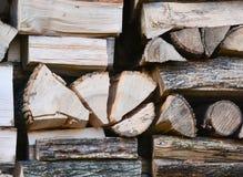 Firewood split Royalty Free Stock Photos