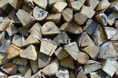 Firewood 2 stock images