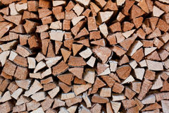 Firewood store Royalty Free Stock Images
