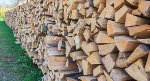 Firewood from Styria Royalty Free Stock Photo