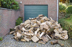 Firewood supply Stock Photo