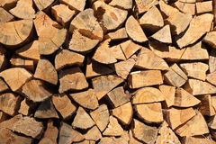 Firewood texture Stock Photo