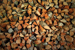 Firewood texture Royalty Free Stock Images