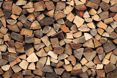 Firewood texture Royalty Free Stock Image
