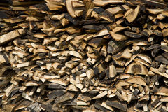 Firewood texture background Royalty Free Stock Photos