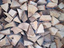 Firewood texture background Royalty Free Stock Photography
