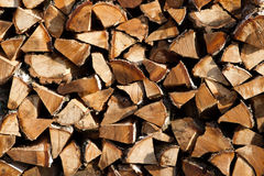 Firewood texture background Royalty Free Stock Image