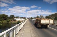Firewood Truck stock image