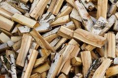 Firewood  trunk timber Stock Photos