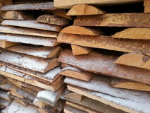 Firewood , Russia Royalty Free Stock Image
