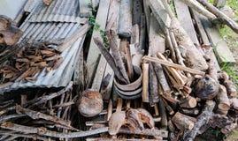 Firewoods 图库摄影