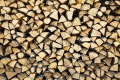 Firewoods zeichnet Hintergrund auf Lizenzfreie Stockbilder