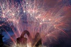 firework Fotografia Stock