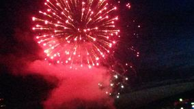 Firework3 Stock Afbeeldingen