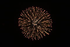 Firework 2 Royalty Free Stock Photos