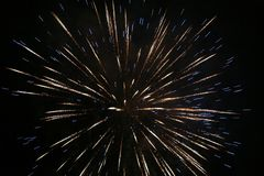 Firework. Party Royalty Free Stock Photography