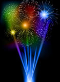 Firework. This is file of EPS10 format Stock Photography