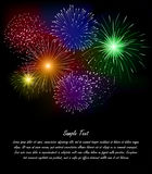 Firework. This is file of EPS10 format Royalty Free Stock Photography
