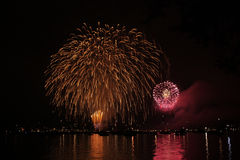 Firework2 Arkivfoton