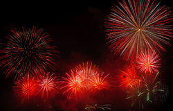 Firework. Colorful firework for the celebration Royalty Free Stock Photography