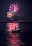 firework Imágenes de archivo libres de regalías